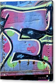 E Is For Equality Acrylic Print by Donna Blackhall