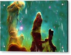 Eagle Nebula 2 Acrylic Print by Ayse Deniz