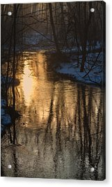 Early Winter Morning Acrylic Print by Karol Livote