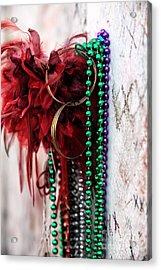Earrings For Marie Acrylic Print by John Rizzuto