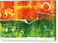 Earth Home With View Acrylic Print by Nadia Korths