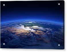 Earth - Mediterranean Countries Acrylic Print by Johan Swanepoel