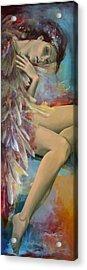 Earthly Feelings Acrylic Print by Dorina  Costras