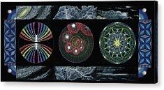 Earth's Beginnings Acrylic Print by Keiko Katsuta