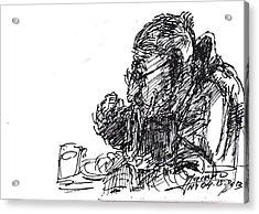 Eater 3 Acrylic Print by Ylli Haruni