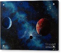 Ecliptic View Acrylic Print by Murphy Elliott