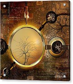 Eden Is Lost Acrylic Print by Franziskus Pfleghart