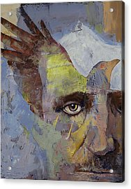 Poe Acrylic Print by Michael Creese