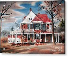 Edgar Home Acrylic Print by Kip DeVore