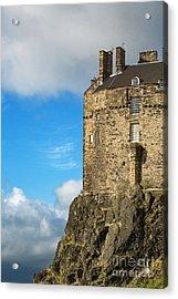 Edinburgh Castle Detail Acrylic Print by Jane Rix