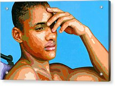 Eduardo Na Luz Acrylic Print by Douglas Simonson