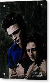 Edward And Bella Acrylic Print by Betta Artusi