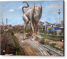 Eeek Berlin Acrylic Print by Ethan Harris