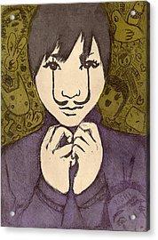eERIe Creatures Acrylic Print by Vanessa Baladad