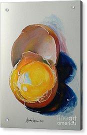 Egg.. Acrylic Print by Alessandra Andrisani