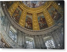 Eglise Du Dome Acrylic Print by Evie Carrier