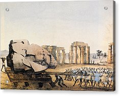 Egypt Antiquities Acrylic Print by Granger