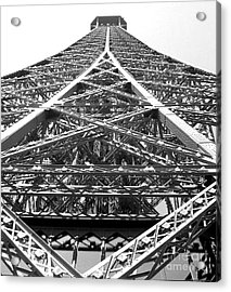 Eiffel Tower Acrylic Print by Andrea Anderegg
