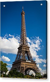 Eiffel Tower Acrylic Print by Inge Johnsson