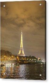 Eiffel Tower - Paris France - 011342 Acrylic Print by DC Photographer
