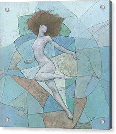 Eir Acrylic Print by Steve Mitchell