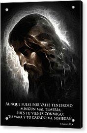 El Buen Pastor Acrylic Print by Stefan Kuhn