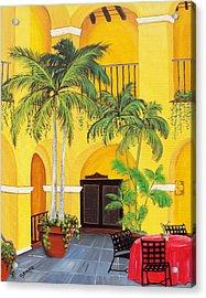 El Convento In Old San Juan Acrylic Print by Gloria E Barreto-Rodriguez