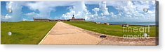 El Morro Walkway Acrylic Print by Carey Chen