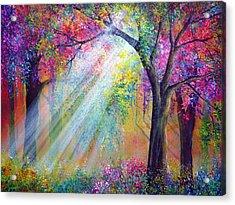 Elation Acrylic Print by Ann Marie Bone
