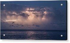 Electric Skys Acrylic Print by Brad Scott