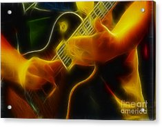 Electric Slide Fractal Acrylic Print by Gary Gingrich Galleries