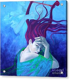 Elegy Acrylic Print by Dorina  Costras