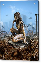 Elements - Metal Acrylic Print by Cassiopeia Art