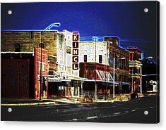 Elgin Old Town Street Acrylic Print by Linda Phelps