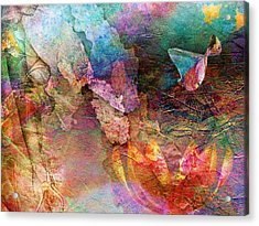 Elusive Dreams Part Two Acrylic Print by Jacky Gerritsen