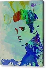 Elvis Acrylic Print by Naxart Studio