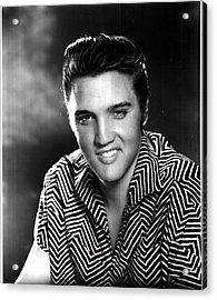 Elvis Presley Acrylic Print by Georgia Fowler