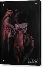 Embrace Acrylic Print by Betta Artusi