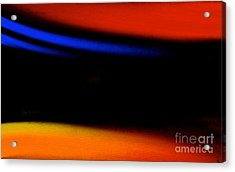 Embrace The Darkness Acrylic Print by Anita Lewis