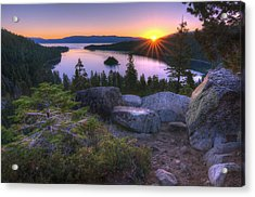 Emerald Bay Acrylic Print by Sean Foster