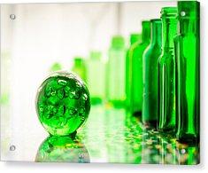 Emerald City I Acrylic Print by Jon Woodhams