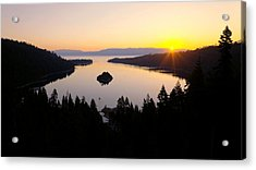 Emerald Dawn Acrylic Print by Chad Dutson