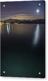 Emerald Waters Acrylic Print by Brad Scott