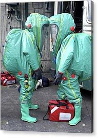 Emergency Ventilation Acrylic Print by Public Health England