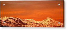 Emigrant Gap Acrylic Print by Bill Gallagher