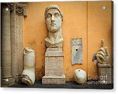 Emperor Constantine Acrylic Print by Inge Johnsson