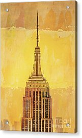 Empire State Building 4 Acrylic Print by Az Jackson