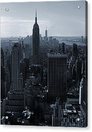 Empire State Of Mind Acrylic Print by Dan Sproul