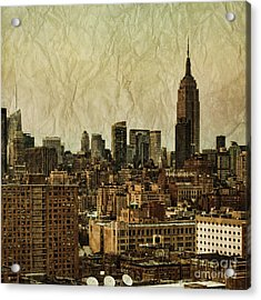 Empire Stories Acrylic Print by Andrew Paranavitana