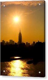 Empire Sunrise Acrylic Print by Joann Vitali